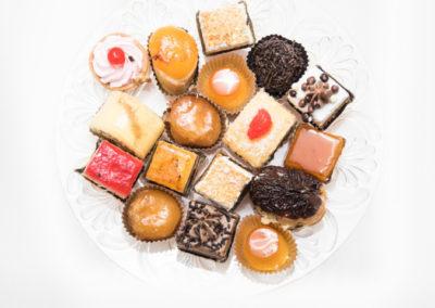 Surtido de mini pasteles